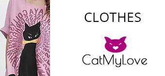 Clothes theme cat