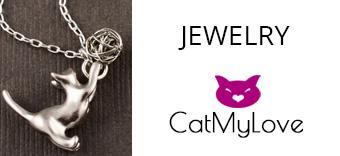Jewelry themed cat